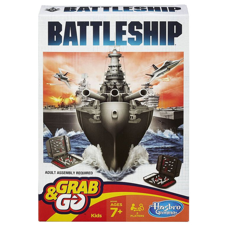Hasbro Gaming - Battleship Grab & Go Game