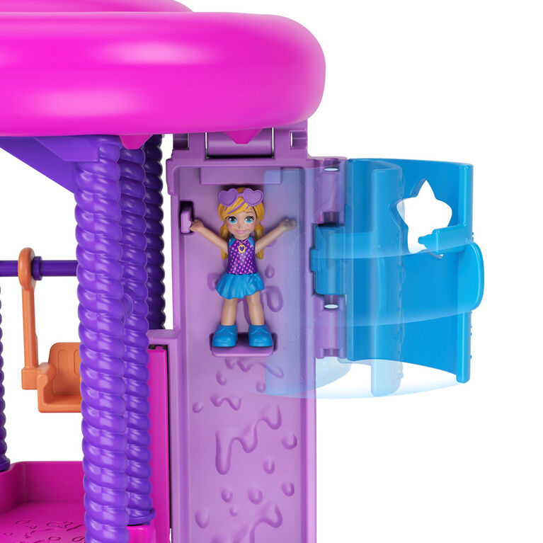 Polly Pocket - Pollyville - Parc aquatique avec super glissade