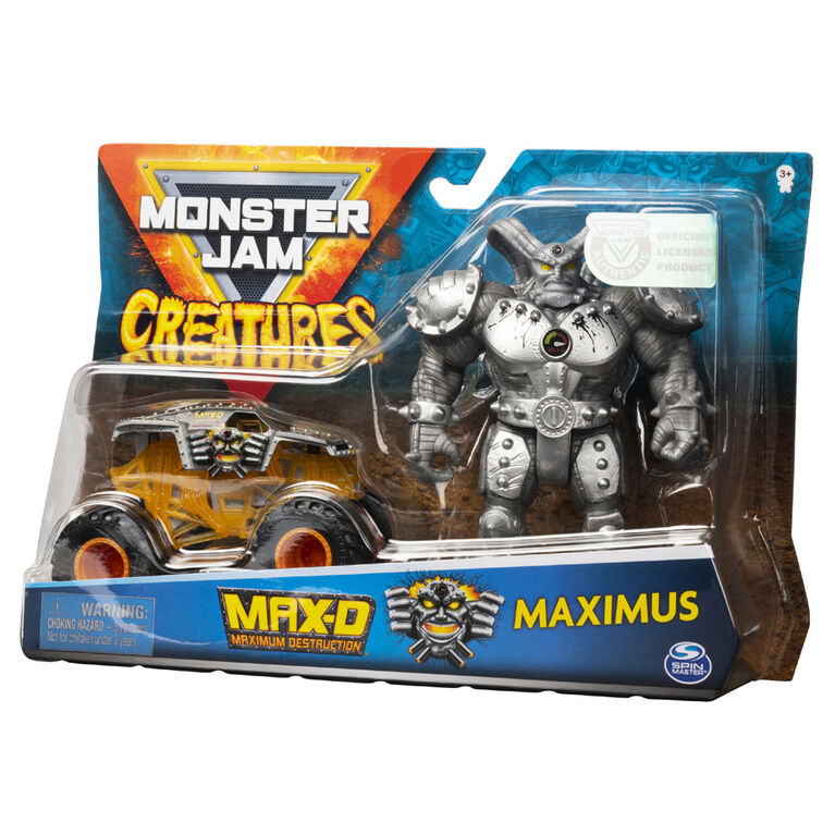 Monster Jam 1:64 Creature Figures