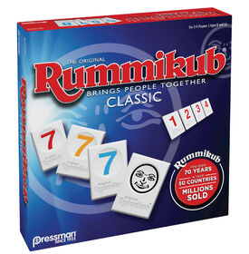 Pressman: Jeu Original de Rummikub - Édition anglaise - les motifs peuvent varier