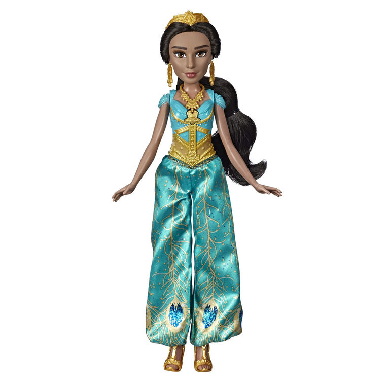Disney Aladdin Singing Jasmine Doll with Outfit and Accessories