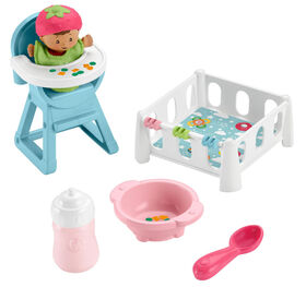 Fisher-Price Little People Babies Snack & Snooze