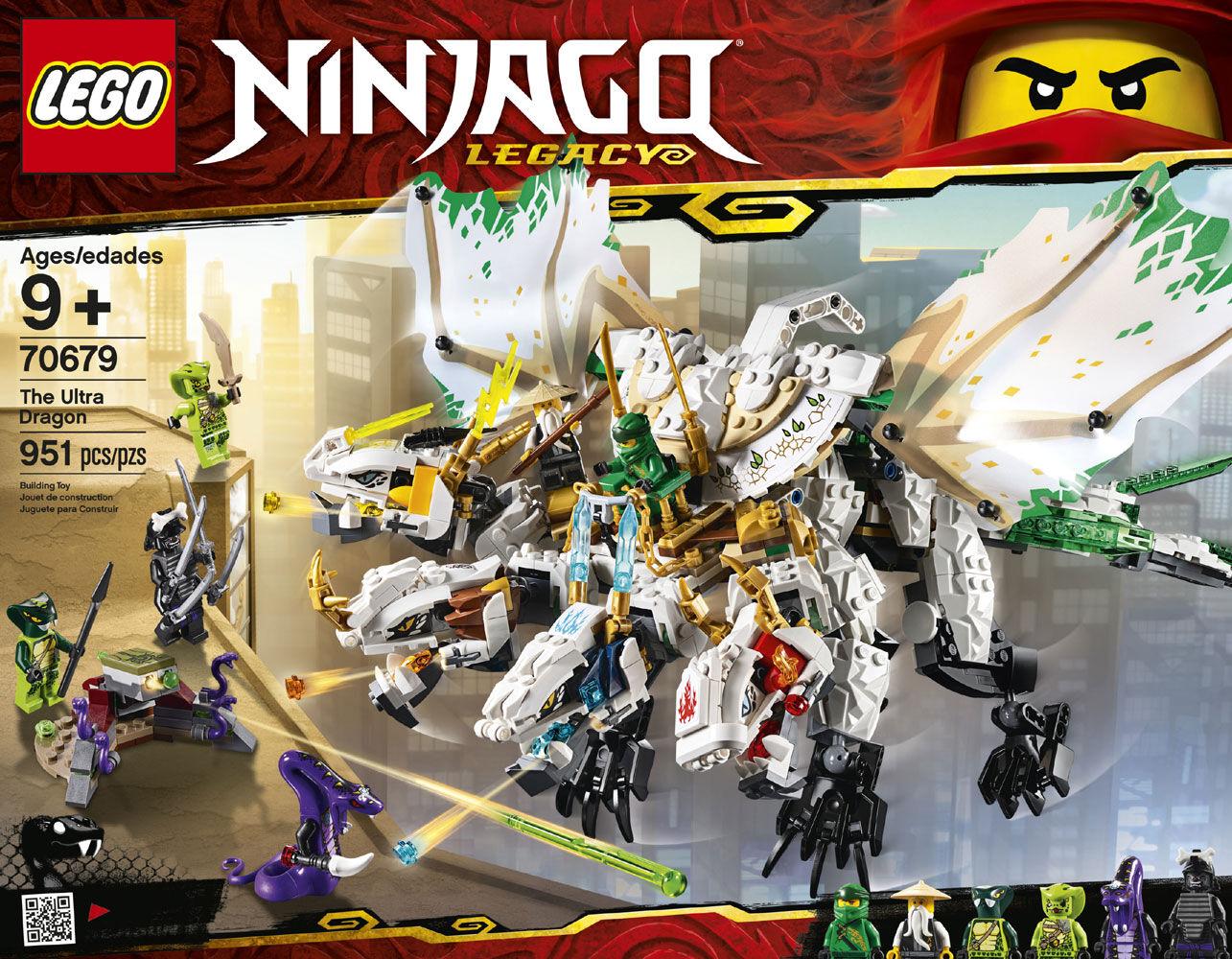 Lego Ninjago Figur Pythor aus  Set 70679