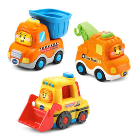 VTech Go! Go! Smart Wheels Construction Vehicle Pack - English Edition