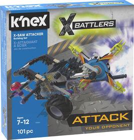 X-Battlers Set De Construction D'Attaqueurs X-Saw