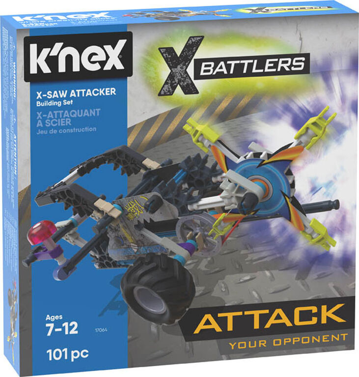 X-Battlers X-Saw Attacker Building Set