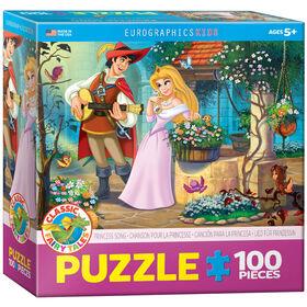 Eurographics princesse chanson 100 Piece Puzzle
