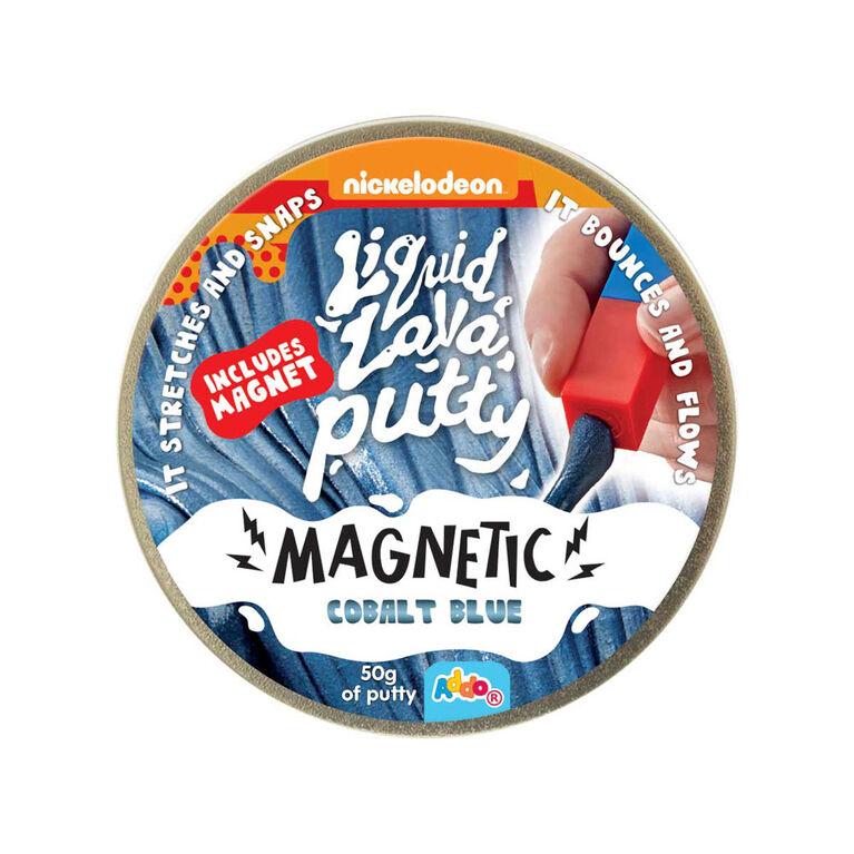 Nickelodeon Liquid Lava Putty Magnetic Cobalt Blue - Notre exclusivité
