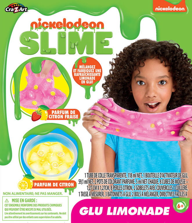 Nickelodeon Lemonade Slime Kit