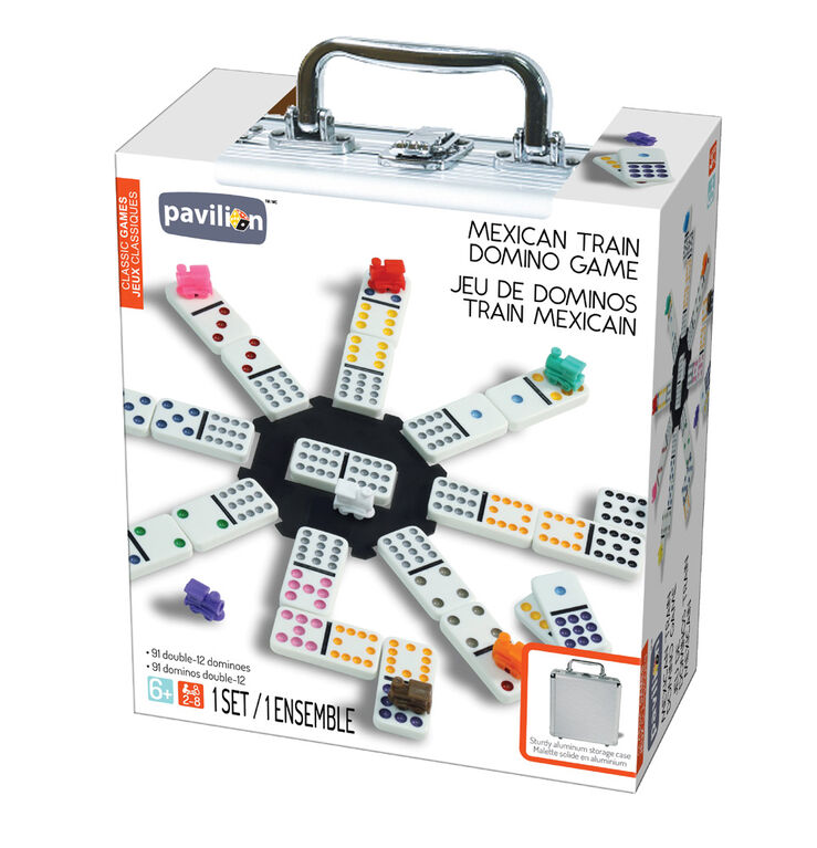 Pavilion Classic Games - Mexican Train Domino Game