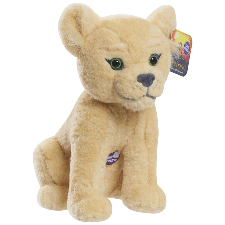 Lion King Live Action Small Plush with Sound - Nala