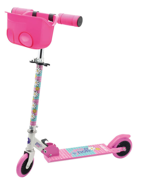 Avigo - You and Me Scooter with Doll Carrier - 120mm