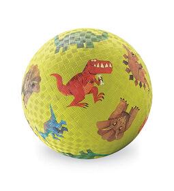 7 Inch Dinosaurs Playground Ball Green
