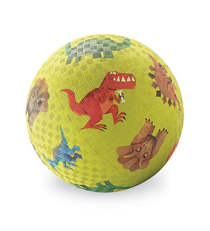 7 po Dinosaures Terrain de jeux Ball Vert