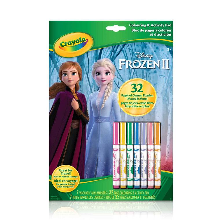 Crayola Colouring & Activity Pad Disney Frozen II