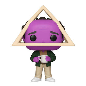 Funko POP! TV: Seinfeld - Holistic George with Purple Face - R Exclusive