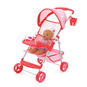 Little Mommy Doll Stroller - R Exclusive  066829