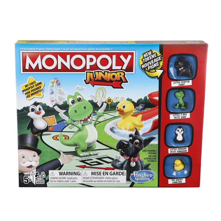 Hasbro Monopoly Junior Board Game Ages 5 and up