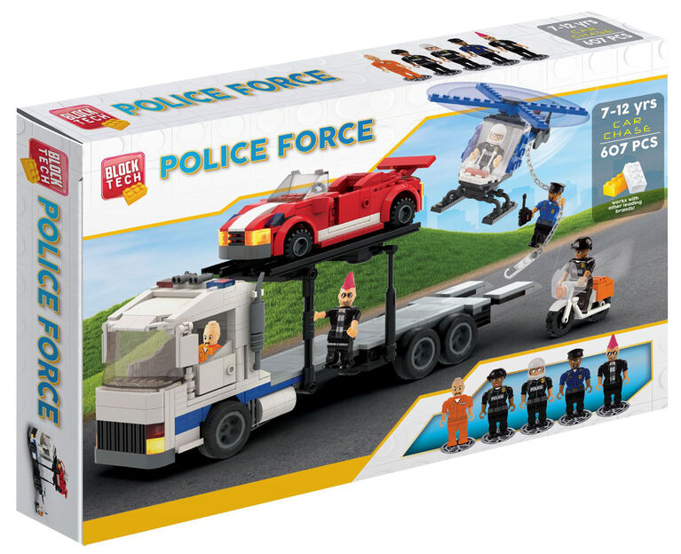 Block Tech - Police Force: Car Chase 607 pc