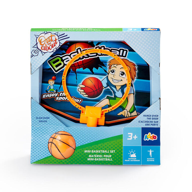 Mini ensemble de basket-ball Out and About - Notre exclusivité