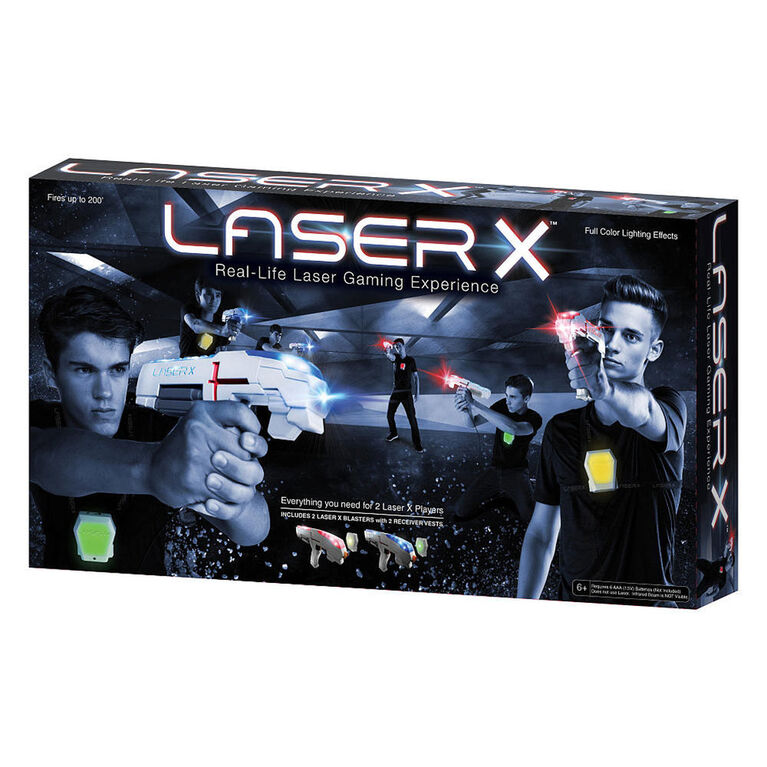 LASER X - Real-Life Laser Gaming Experience - Double Set
