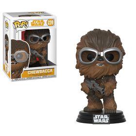 Figurine en vinyle Chewbacca de Star Wars Coupe Rouge par Funko POP!.