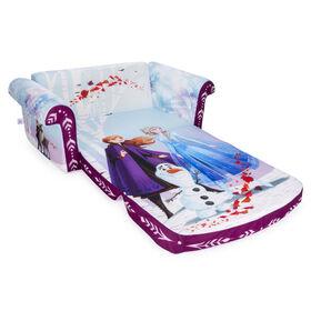 Mobilier Marshmallow - Canapé dépliable en mousse 2-en-1 pour enfants, Frozen2, par Spin Master