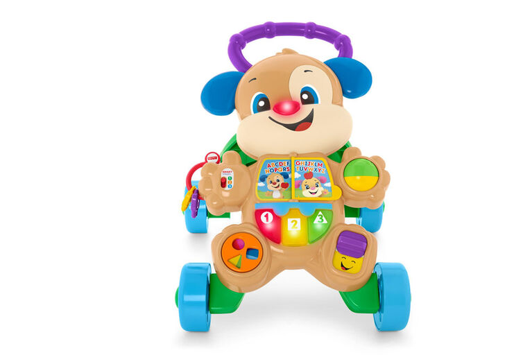Fisher-Price Smart Stages Puppy Walker- English Edition
