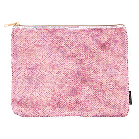 Magic Sequin Pouch-Pink