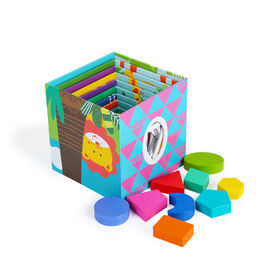 Imaginarium Discovery - Safari Stacking Cubes 19 Pieces