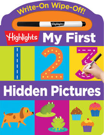 Highlights - My First Write-On Wipe-Off Board Books - English Edition