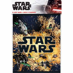 Star Wars Classic Loot Bags, 8 pieces