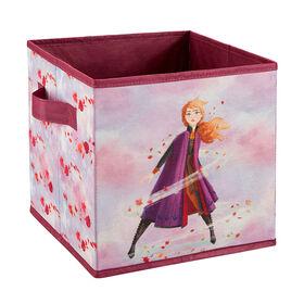 Frozen II 9 Inch Soft Storage Bin - Anna