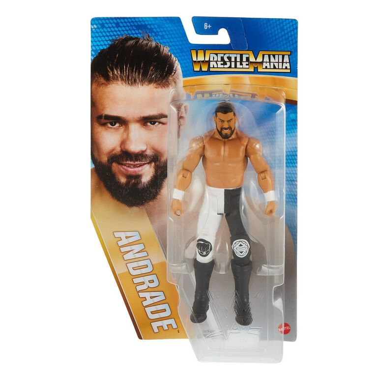 WWE Wrestlemania Andrade Action Figure