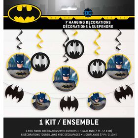 Batman Decorating Kit, 7 pieces