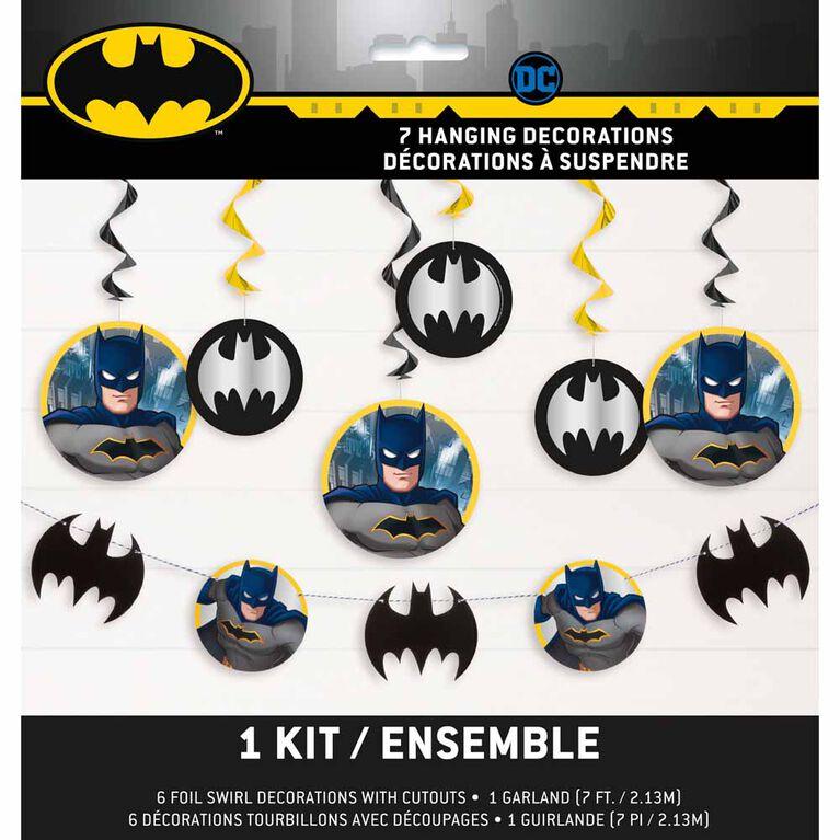 Batman Decorating Kit, 7 pieces