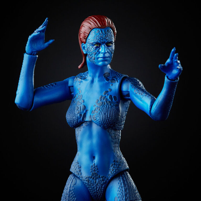 Hasbro Marvel Legends Series X-Men, figurine Marvel's Mystique de 15cm à collectionner