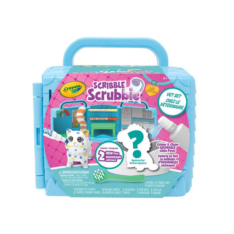 Crayola Scribble Scrubbie Pets Vet Set