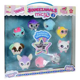 Squeezamals Micro 10 Pack