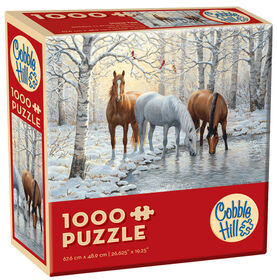 Horse Trio 1000 Piece Puzzle