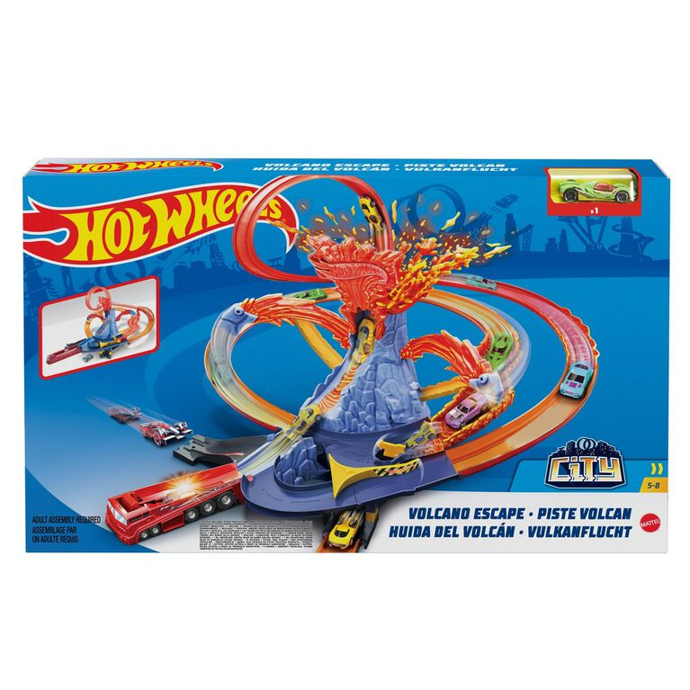 Hot Wheels Volcano Escape Playset
