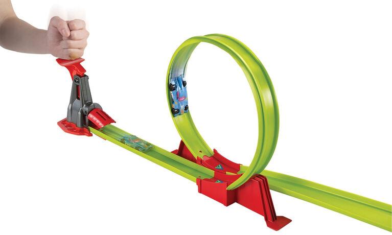 Hot Wheels - Coffret de jeu Piste Ricochets. - Notre Exclusivité