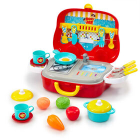 Busy Me - Ensemble Little Chef's Kitchen - Notre exclusivité