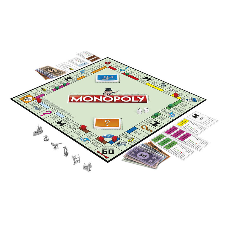 Hasbro Gaming - Monopoly Classic Game
