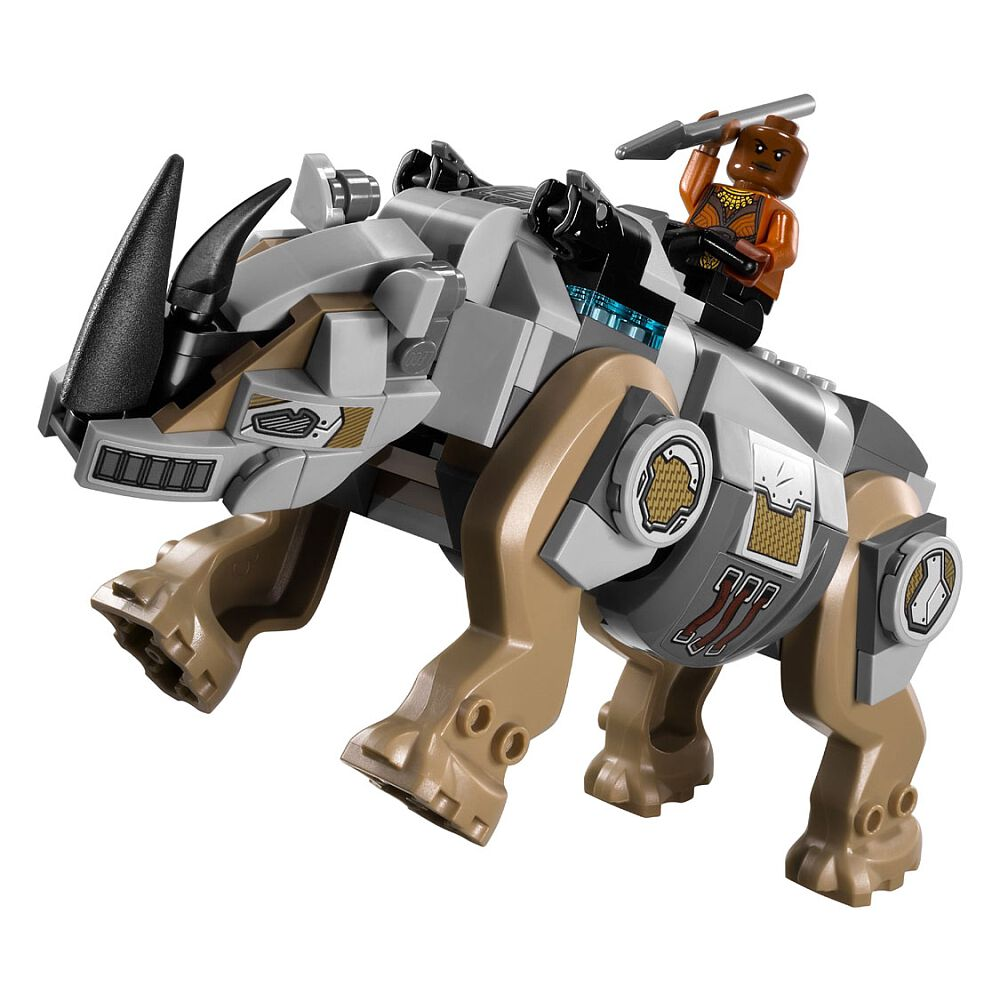 LEGO 76099 Marvel Super Heroes Rhino Face-Off By The Mine Black Panther Playset