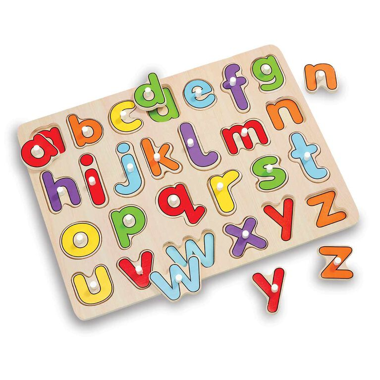 Woodlets - Casse-tête Lift & Look - Alphabet - Notre exclusivité