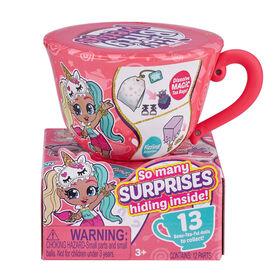 Assortiment de poupées Itty Bitty Pretty et petite tasse de thé Tea Party (inclut 12Surprises!) par ZURU