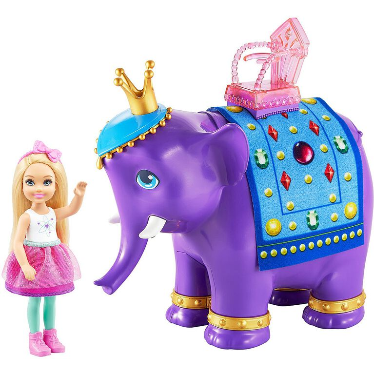 Barbie Dreamtopia Chelsea Doll and Elephant - R Exclusive