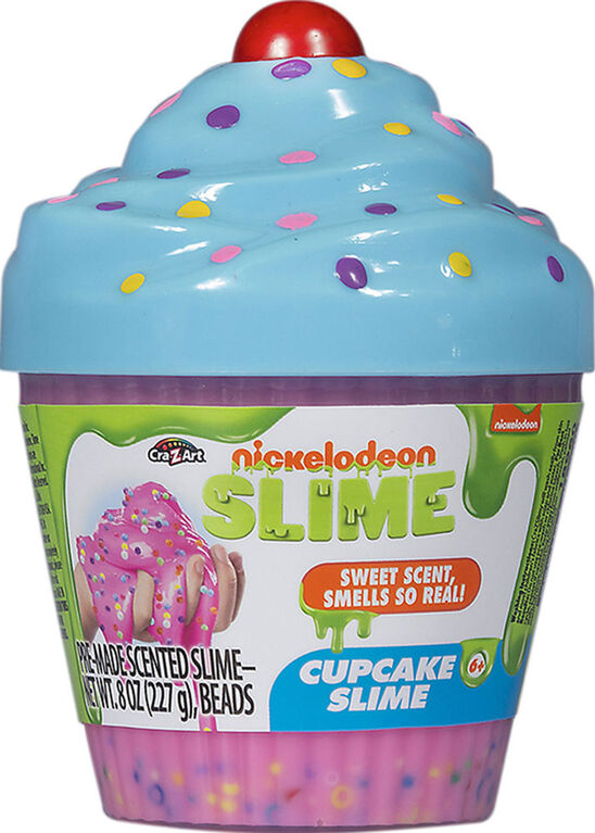 Nickelodeon Scented Slime Cupcake