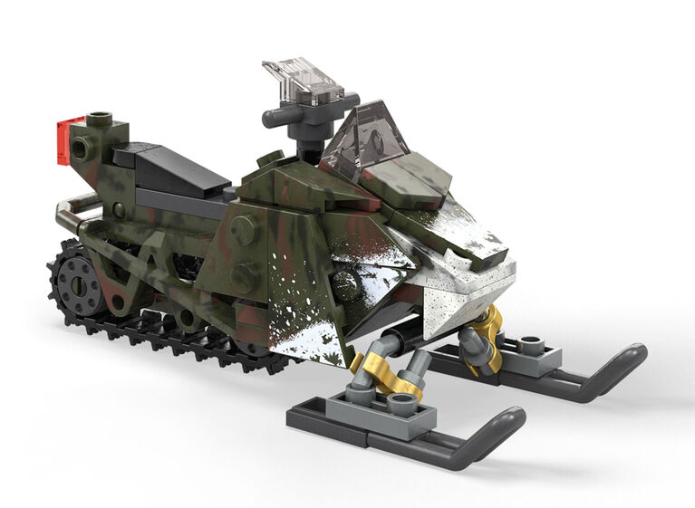 Mega Construx Call of Duty Snowmobile Scout